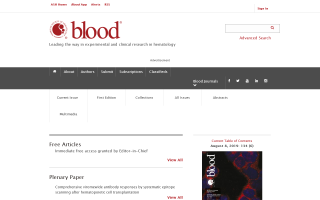 Blood (American Society of Hematology)