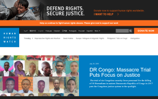 Human Rights Watch – South Africa