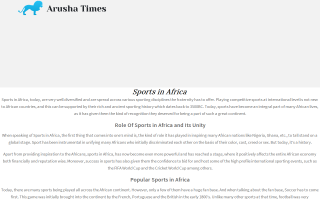 Arusha Times (The)